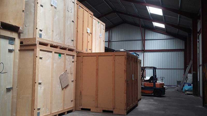 COLUSSI DEMENAGEMENTS - Box de stockage