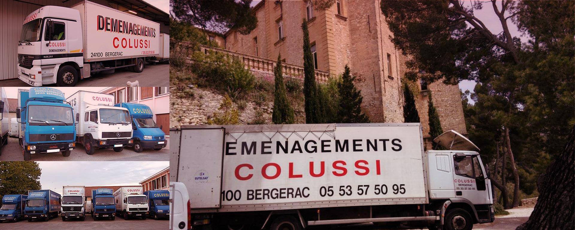 COLUSSI DEMENAGEMENTS - Déménageur depuis 50 ans