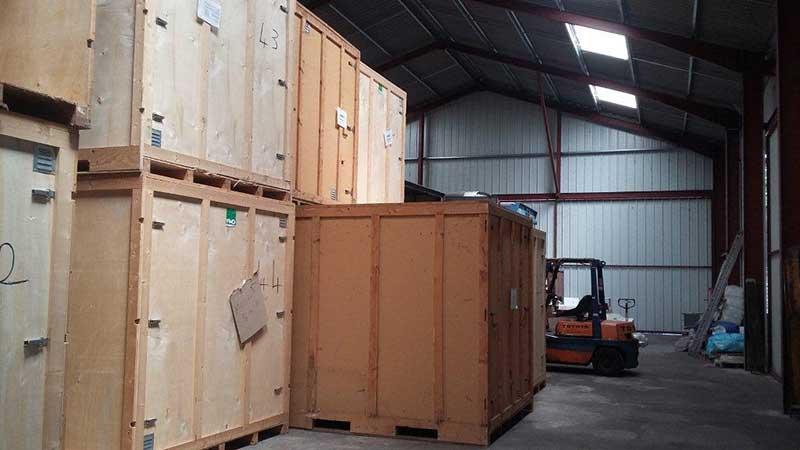 COLUSSI DEMENAGEMENTS - Location de box de stockage à l'année