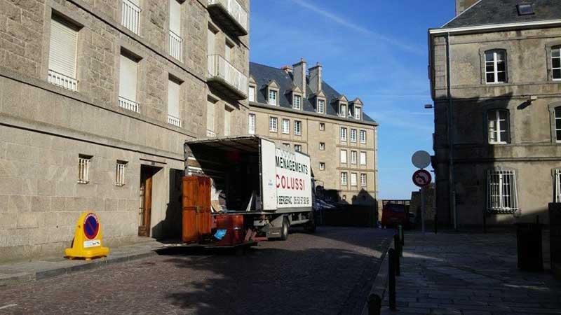 COLUSSI DEMENAGEMENTS -Déménagement de meubles et cartons