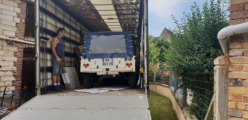 COLUSSI DEMENAGEMENTS - Transport de véhicule